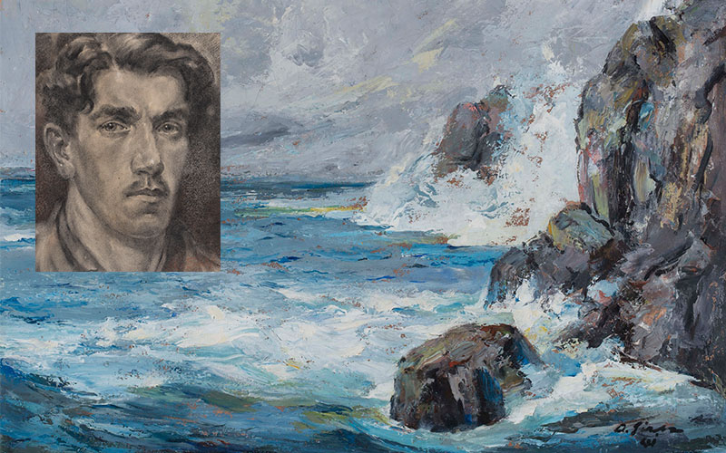 Albert Sirk, slikar našega morja
