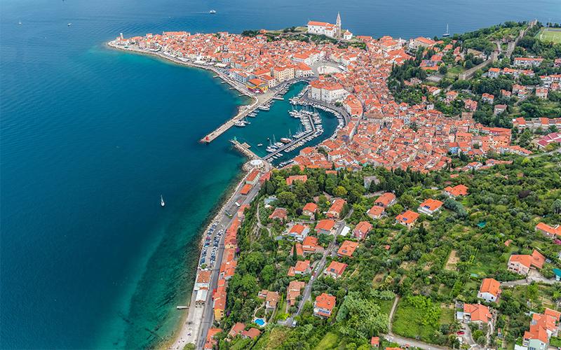 Piran in Portorož za 7 % več hotelskih nočitev