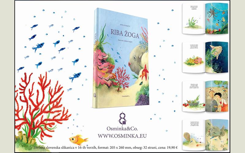 Nova izvirna slovenska slikanica Riba Žoga