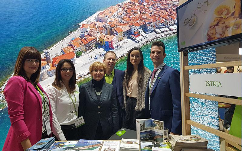 Slovenska Istra v Milanu, Pragi in Münchnu