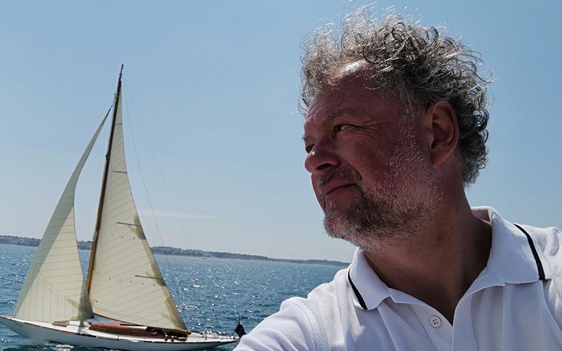 Mitja Zupančič, v stalnem dotiku z morjem