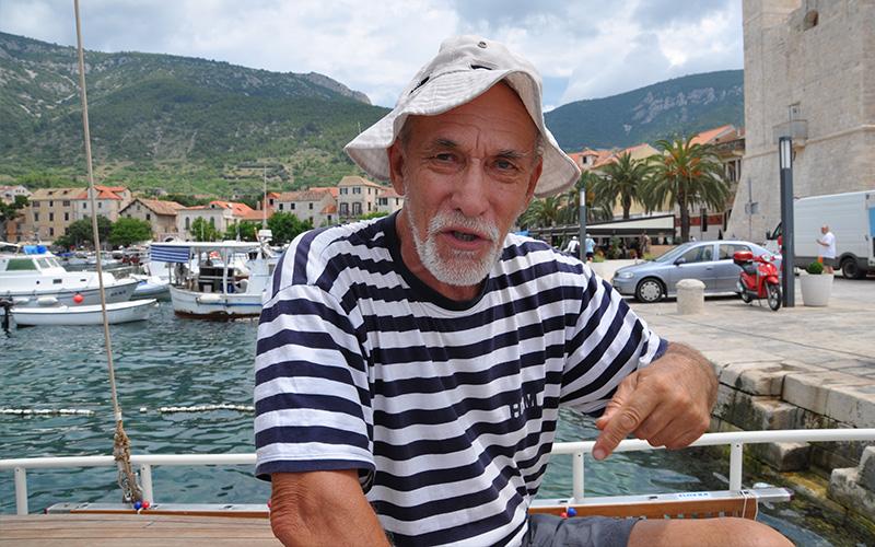 Bartul Dulčić, ribič in težak s Hvara