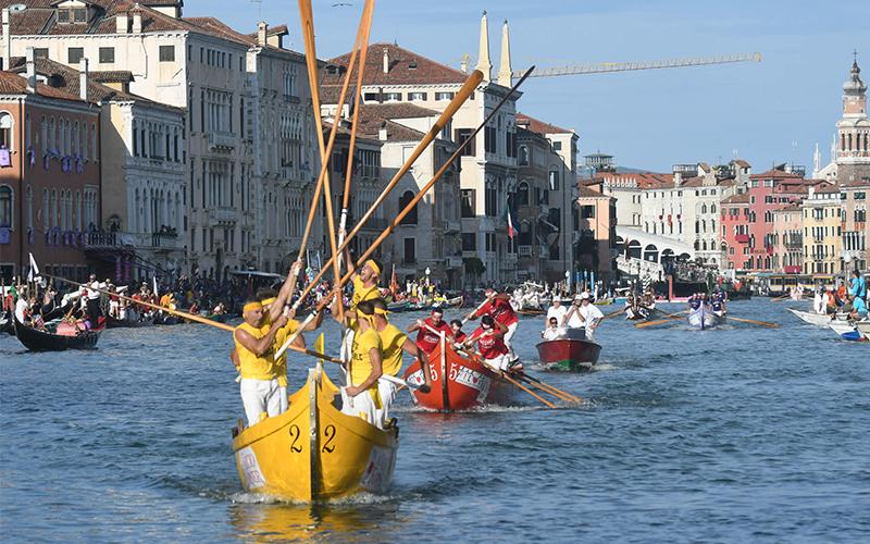 »Regata Storica« – Benetke