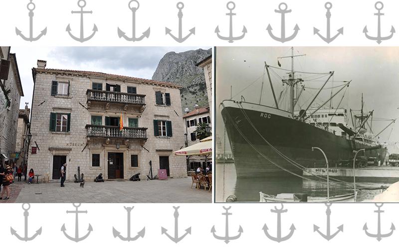 Pomorski muzej Črne gore in ladja Rog