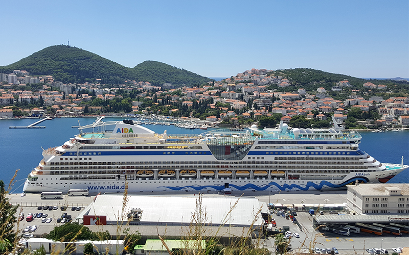 Dubrovnik je omejil število cruiserjev