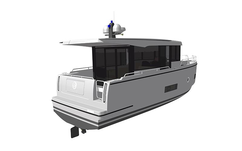 Seafaring Yachts – svetovna premiera SEAFARING 34S