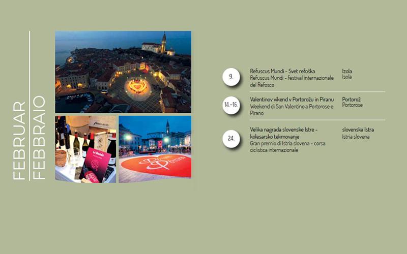 Napovednik dogodkov za slovensko Obalo, februar 2019