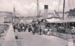 Koper, Izola in Piran v okviru avstrijskega pomorstva