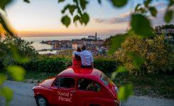 Z rdečim fičkom v Portorož in Piran