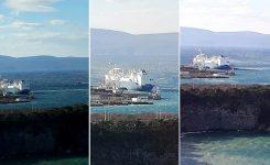 Viharna burja ogrožala ladjo LNG Croatia