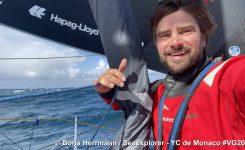 Težki trenutki za Herrmanna na jugu Atlantika