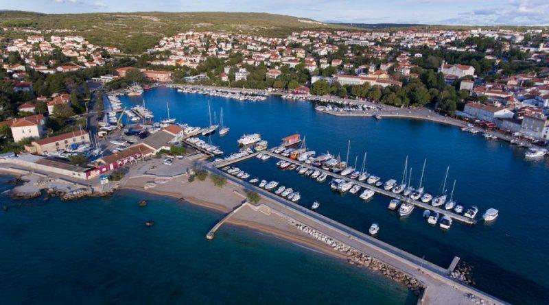 Razširitev ribiškega pristanišča v mestu Krk