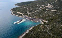 Novo pristanišče Mrtvaška na Lošinju