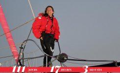Alexia Barrier v cilju Les Sables