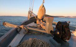 Zimska plovba logerja Nerezinac
