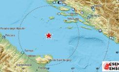 Močan potres v Jadranu