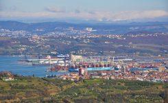 Prihodolimpijske bakle v Luko Koper.