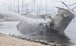 Velika materialna škoda v Marini Kaštela