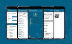 """Mobilna spletna aplikacija """"Cro Nav Support"""""""
